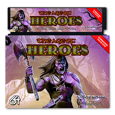 The Age Of Heroes *NEW RELEASE* [Budget C64 Disk]