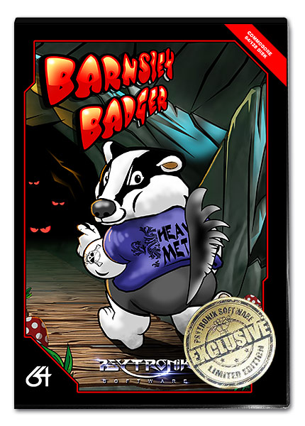 Barnsley Badger [Classic Folder C64 Disk Edition] LIMITED STOCK!
