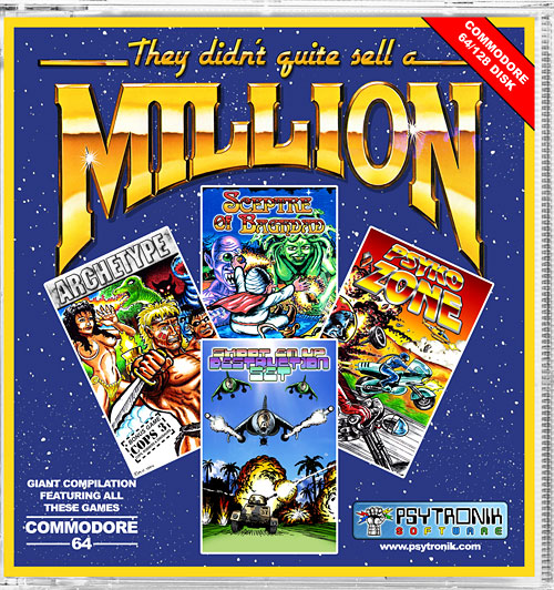 They Didn't Quite Sell A Million (C64)
