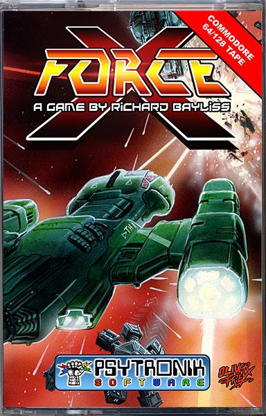 X-Force [C64 Tape] [psytronik46] - £6 99 : Binary Zone Interactive