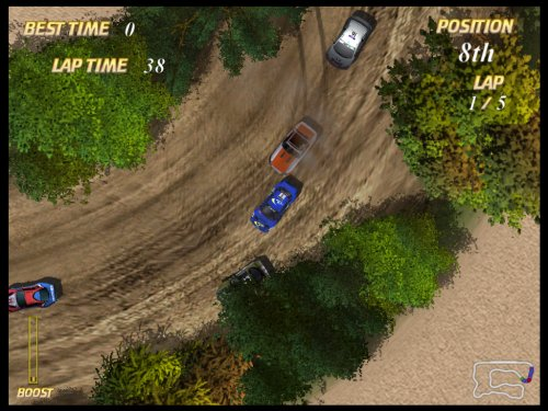 Autocross Racing PC in-game screen