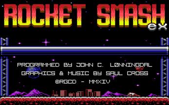 Rocket Smash EX (C64)