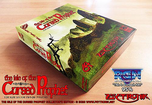 The Isle Of The Cursed Prophet (C64)