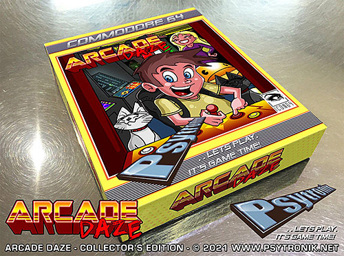 Arcade Daze (C64)
